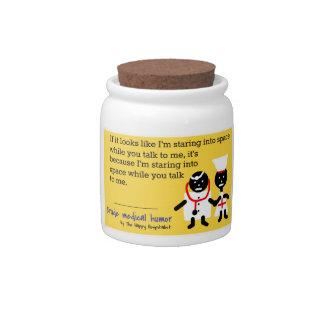 Medical Humor Candy Jars