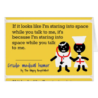Medical Humor Card