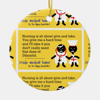 Medical Humor Christmas Ornaments
