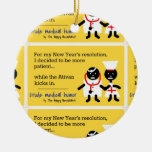 Medical Humor Christmas Tree Ornament
