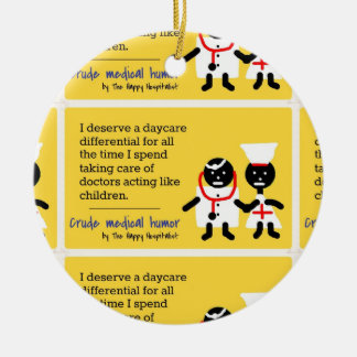 Medical Humor Christmas Tree Ornaments