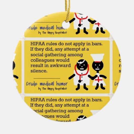 Medical Humor Christmas Tree Ornaments