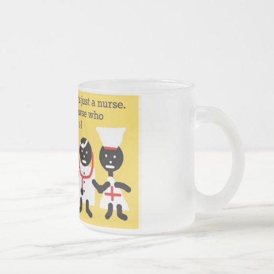Medical Humor Frosted Glass Coffee Mug