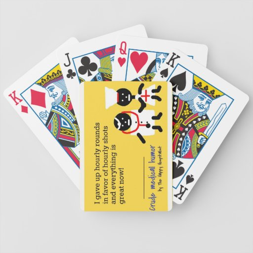 Medical Humor Playing Cards