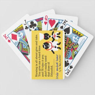 Medical Humor Poker Deck