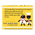 Medical Humor Postcard