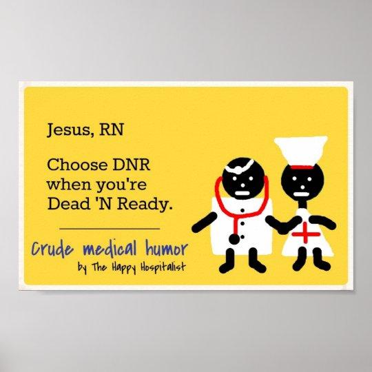 Medical Humor Poster