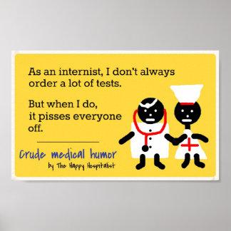 Medical Humor Posters