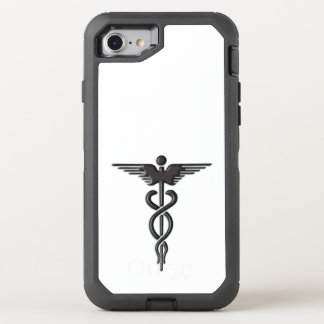 Medical Insignia Caduceus OtterBox Defender iPhone 7 Case