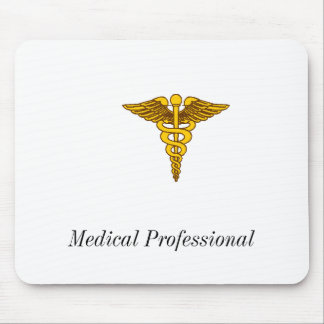 Medical Insignia, Medical Professional Mouse Pad