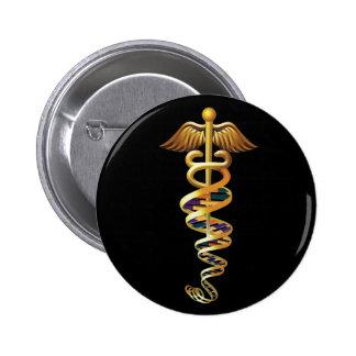 Medical Insignia Pinback Button