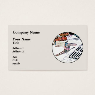 Medical Instruments Business Card