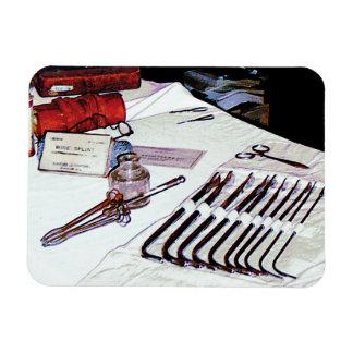 Medical Instruments Rectangular Photo Magnet