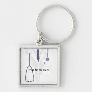 Medical Lab Coat Jacket Doctor Premium Keychain