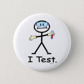Medical Lab Tech Button