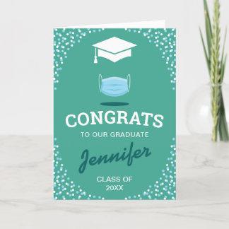 Medical Lockdown Congratulations Graduate Card
