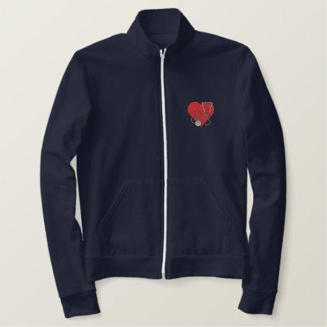 Medical Logo Embroidered Jacket