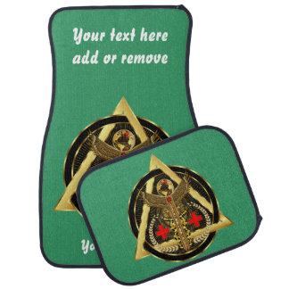 Medical Logo Universal Important VIEW ABOUT Design Car Floor Mat