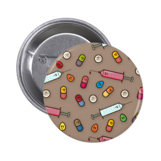 medical madness Buttom 2 Inch Round Button