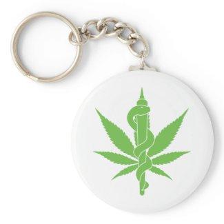 Medical Marijuana Keychain
