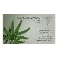 Medical Marijuana Business Card profilecard