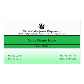 hi fi medical marijuana business card invent me. Black Bedroom Furniture Sets. Home Design Ideas