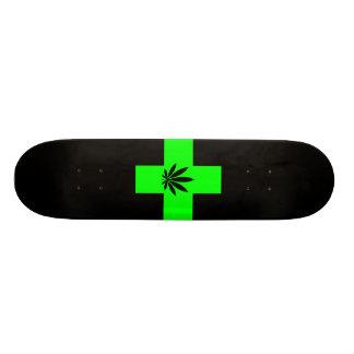 medical marijuana skateboard deck
