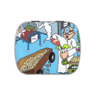 Medical Mayhem Jelly Belly™  Candy/Pill Tin Candy Tins