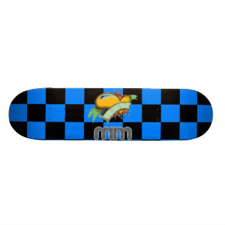 medical message by garrett jones skateboard decks