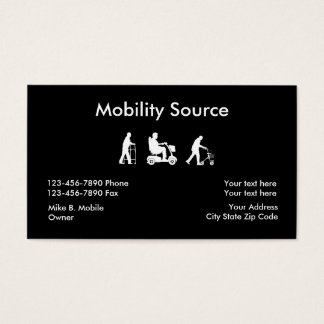 Medical Mobility Business Cards