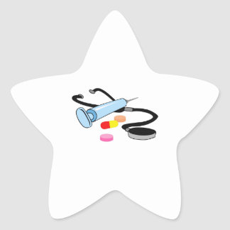 MEDICAL MONTAGE STAR STICKERS