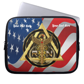 Medical Nurse Device Carry Case VIEW ABOUT design Laptop Computer Sleeves