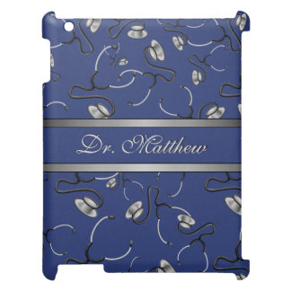 Medical, Nurse, Doctor themed stethoscopes, Name Case For The iPad 2 3 4