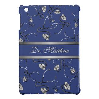 Medical, Nurse, Doctor themed stethoscopes, Name iPad Mini Case