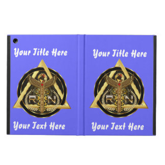 Medical Nurse Logo Universal VIEW ABOUT Design iPad Air Case
