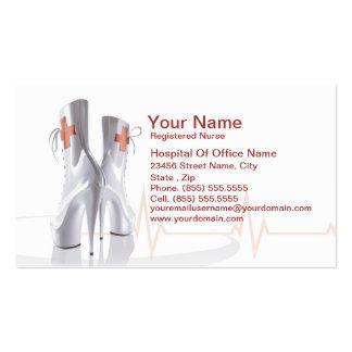 Medical Nurse Profile  Business Card