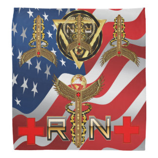 Medical Nurse RN Desing 2 of 2 View about Design Bandana
