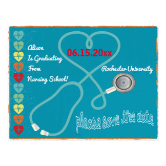 Medical Nursing Save The Date Postcard