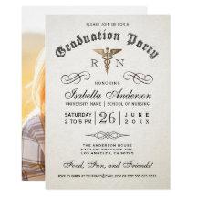 Nursing graduation invitations announcements zazzle filmwisefo Image collections