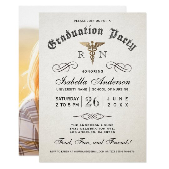 Medical nursing school graduation invitations zazzle medical nursing school graduation invitations filmwisefo