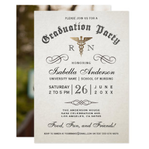 Medical school graduation invitations announcements zazzle medical nursing school graduation invitations filmwisefo