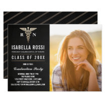 Medical Nursing School Graduation Invitations