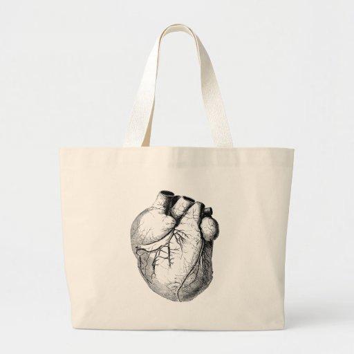 Medical Old heart Tote Bag