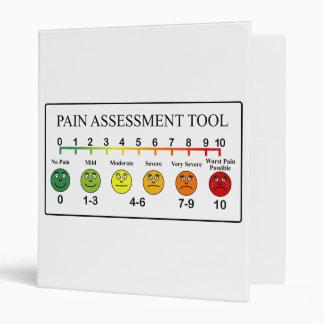 Medical Pain Assessment Tool Chart 3 Ring Binder