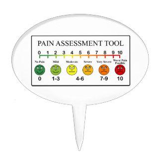 Medical Pain Assessment Tool Chart Cake Pick