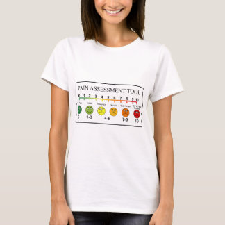 Medical Pain Assessment Tool Chart T-Shirt