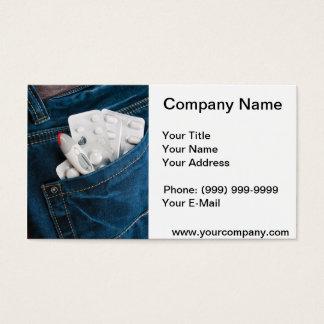 Medical pocket business card