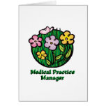 Medical Practice Manager Blooms Cards