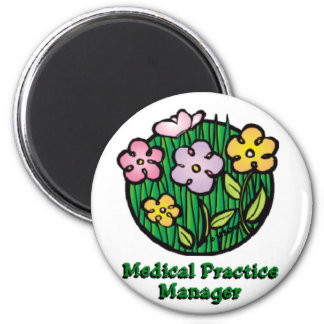 Medical Practice Manager Blooms Magnet