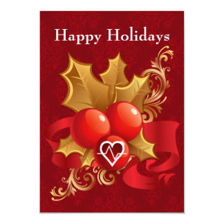 medical profession cardiology Holiday Cards